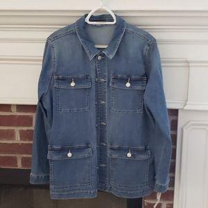 Westport denim jacket, coat,  size XL NWT